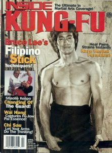 Inside Kung-Fu magazine cover April 2000.