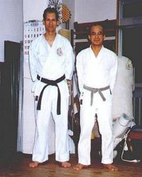 Pedro Bernardy and Shinzato