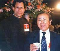 Pedro Bernardy and Takushi Yasukazu