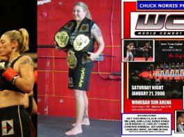 Christina Rondeau World Combat League
