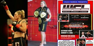 Christina Rondeau World Combat League