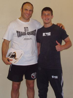 Martin Azzam and Randy Couture