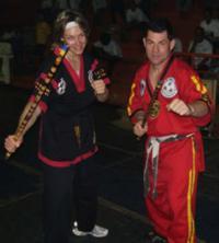 Vince Palumbo and Andrea Wheatley Jakarta