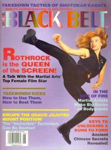 Cynthia Rothrock Black Belt Magazine