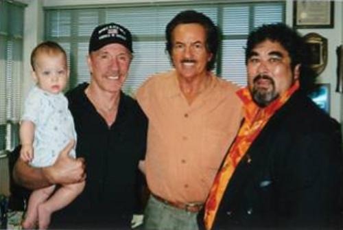 Chuck Norris, Bob Wall and Gary Lee