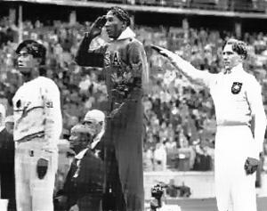 Jigoro Kano at the 1936 Olympics in Berlin