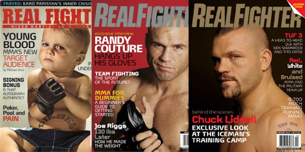 Real Fighter Magazine
