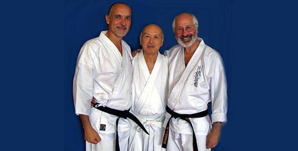 Sensei Varon, Master Kenjiro Kawanabe, Sensei Rick Lenchus