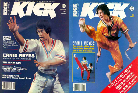 Ernie Reyes Kick Illustrated Covers