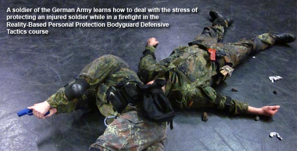 Combat stress in Reality Based course