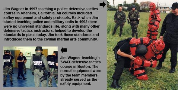 Jim Wagner teaching SWAT teams