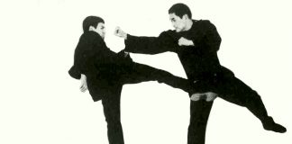 Ted Wong and Bruce Lee