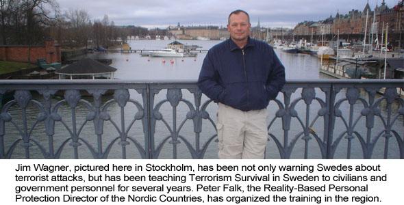Jim Wagner in Stockholm