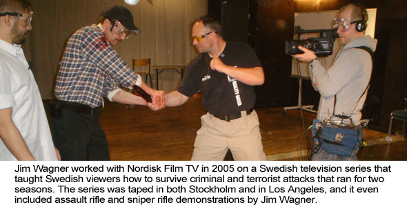 Jim Wagner with Nordisk TV