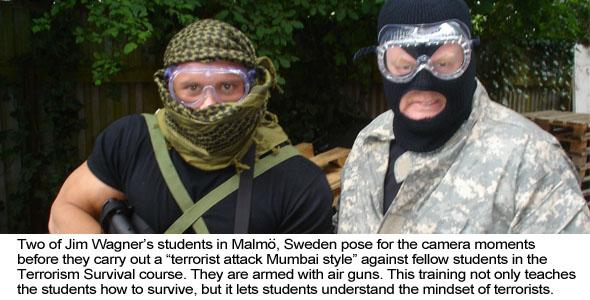 Terrorism Survival in Sweden