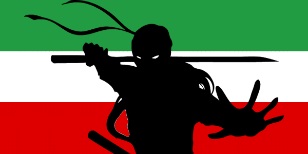 Tehran Conscripts Ninja Masters to Crush Democracy