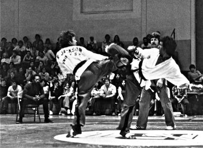 Michael Goldman Fighting Richard Jackson