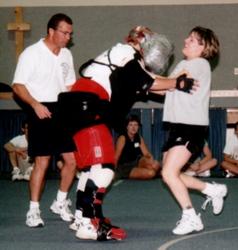 Bob Thurman teaching self defense