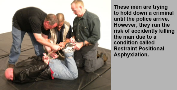 Restraint Positional Asphyxiation
