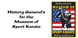 History General's for the Museum of Sport Karate
