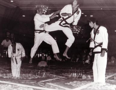 Mitchell Bobrow Jump Kick
