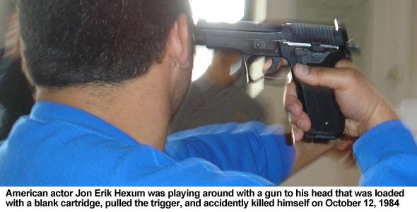 Gun Disarm Gas Avoidance