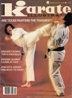 Roy Kurban Karate Illustrated Cover