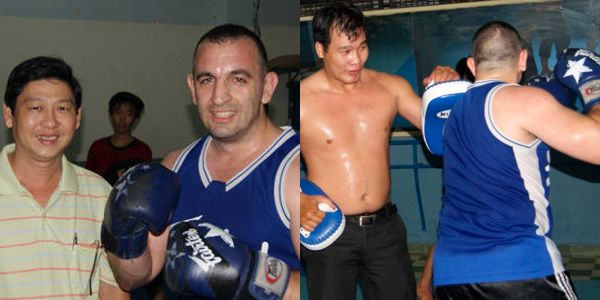 Boxing in Cholon