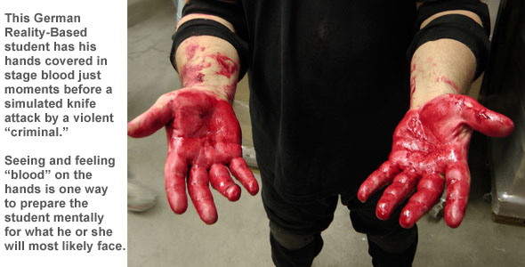 Stage Blood for Training