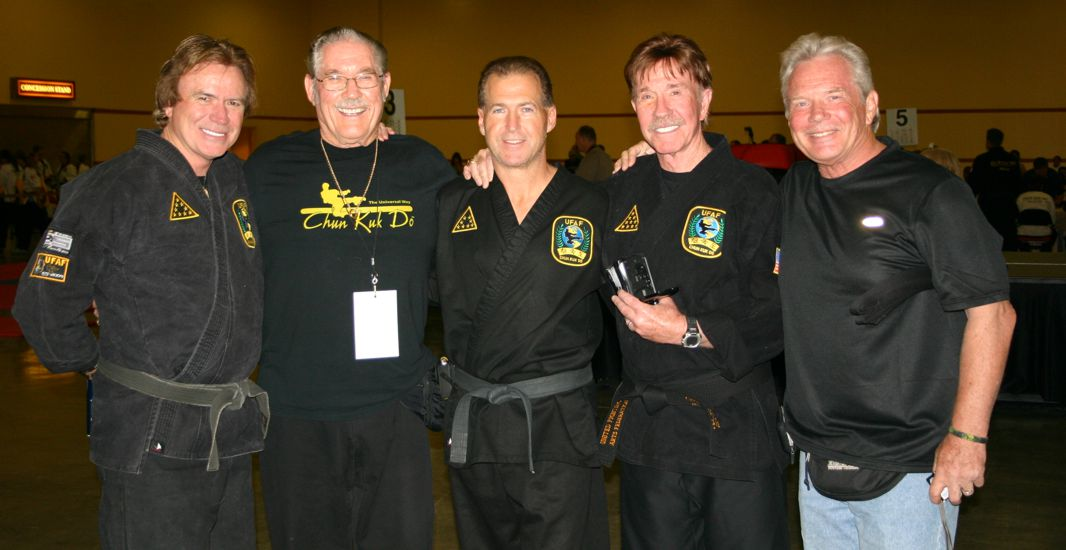 Chuck Norris and Friends at UFAF 2011