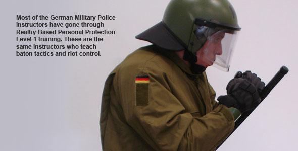 German MP Riot Training