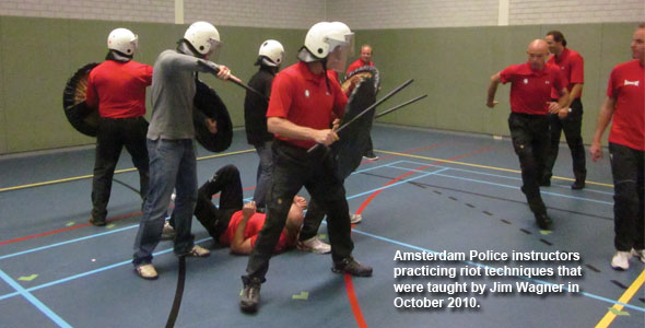 Amsterdam Police Instructors For Riot