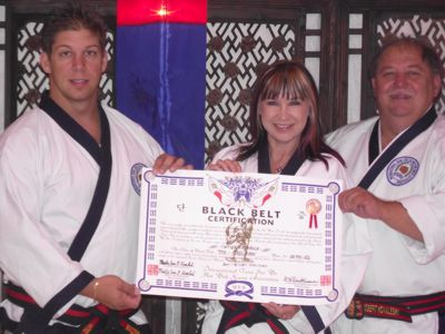 Robert and Eric Kovaleski and Cynthia Rothrock
