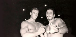 Paulo Tocha and Jean-Claude Van Damme