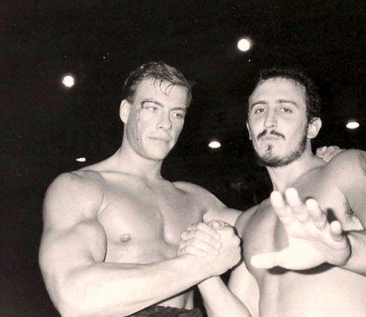 Paulo Tocha and Jean-Claude Van Damme