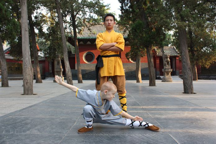 7-Year-Old Andre Magnum in China