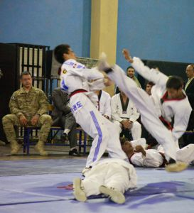 Afghanistan National Taekwondo Federation Junior Team Demo