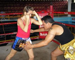Muay Thai Elbow To The Forehead