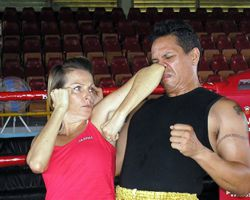 Muay Thai Elbow to Nose