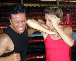 Muay Thai Elbow To The Temple