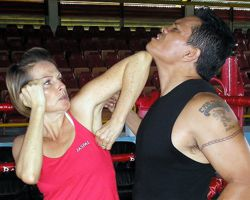 Muay Thai Elbow To The Chin