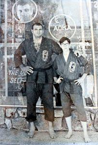 Bob Ozman and Johnny Atkinson