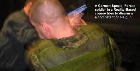 German Soldier Gun Disarm