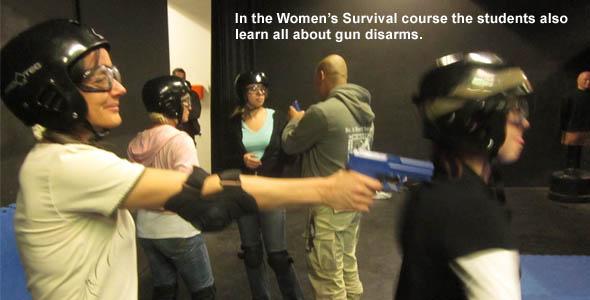 Women's Survival Gun Disarm
