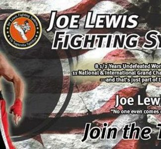 We Love Joe Lewis! Show Your Support . . .