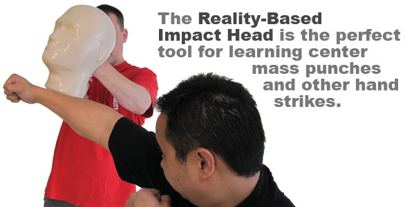 Reality Based Impact Head For Punching