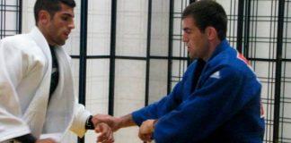 Israeli Judokas Practice