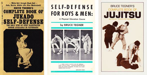 Bruce Tegner Martial Arts Books