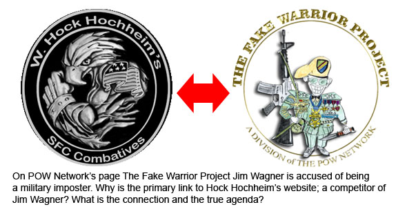 Hock Hochheim Logo and the Fake Warrior Project Logo