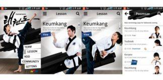 Taekwondo.Lesson App